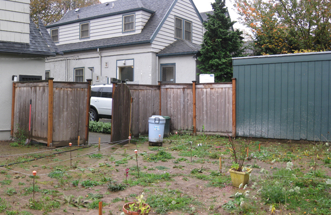 Southeast Corner Before